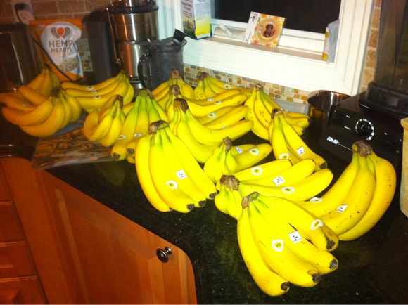 I think I bought too many bananas